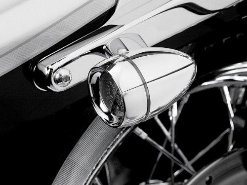 Kuryakyn LED Rear T/S Converter Bullet Smoke Harley Davidson XL FXD - Led Signals Turn Kuryakyn