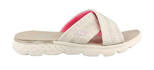 64234529031 Skechers Performance Women s On The Go 400 Tropical Flip Flop  Amazon.in   Shoes   Handbags