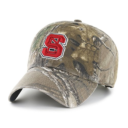 Team Realtree Camo (NCAA North Carolina State Wolfpack Realtree OTS Challenger Adjustable Hat, Realtree Camo, One Size)