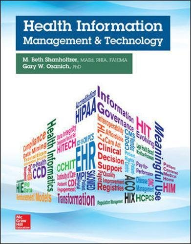 Health Information Management and Technology (P.S. Health Occupations) by McGraw-Hill Education
