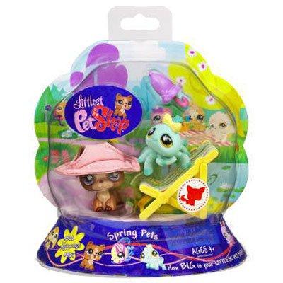 (Littlest Pet Shop Spring Pets Pet Pair (Spider and Shepherd))