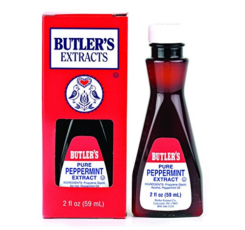 (Butler's Pure Peppermint Extract, 2 Oz. Bottle)