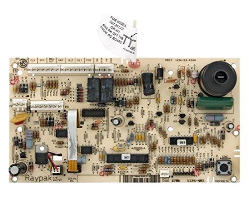 Control Raypak Panel - Raypak 010253F Pc Board Controller 185A-R405A 3-Wire-Kit
