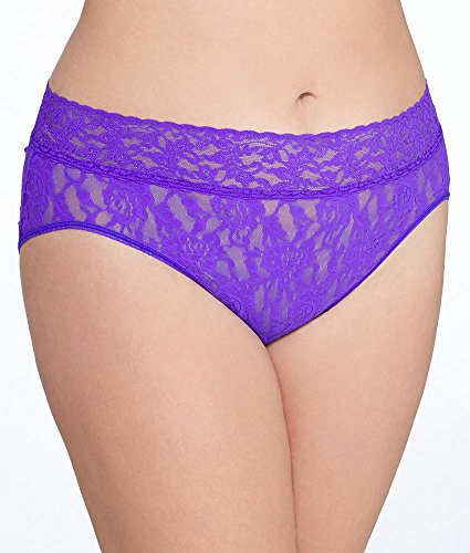 Free Hanky Panky Women's Plus Size Signature Lace French Brief