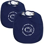 Baby Fanatic Team Color Bibs, Penn State University, 2-Count