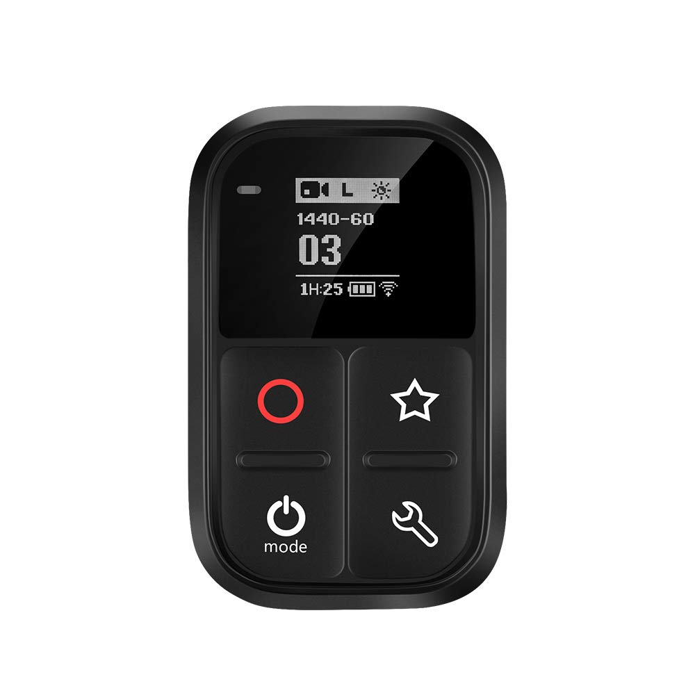 GoPro WiFi Remote TELEISN Smart Remote for GoPro Hero8//7//6//5//4//session .Waterproof Remote Control