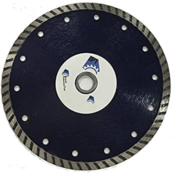 10 Inch Diamond Saw Blade Wet Dry Turbo For Cutting Tile