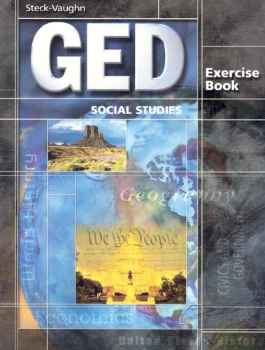 GED Exercise Books: Student Workbook Social Studies