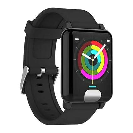 Amazon.com: Smart watch E04 Smart Band Fitness Tracker ECG ...