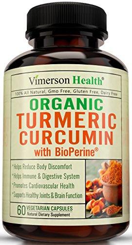 Turmeric Curcumin Supplement Organic wit