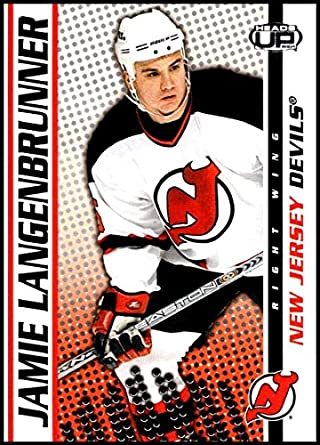 2003-04 Pacific Heads Up  60 Jamie Langenbrunner New Jersey Devils Official  NHL Hockey 8760cc4bd