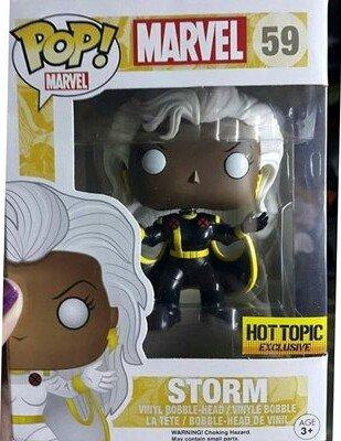 "Funko Pop! Marvel #59 Storm ""Black Suit"" (Hot Topic Exclusive)"