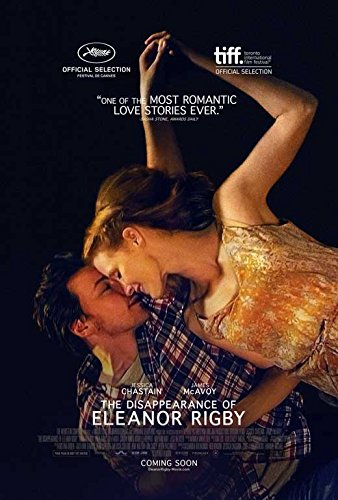 The Disappearance of Eleanor Rigby Movie Poster 27 x 40 Style A 2014 Unframed (Jessica Chastain The Disappearance Of Eleanor Rigby)