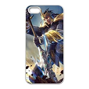 jarvan iv league of legends iPhone 4 4s Cell Phone Case White xlb2-240668