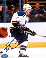 Keith Tkachuk autographed 8x10 Photo (St. Louis Blues) Image #1