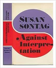 susan sontag essays camp