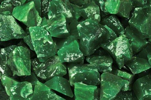 Fantasia Materials: 2 lbs Imperial Z Green Rough -  - Raw