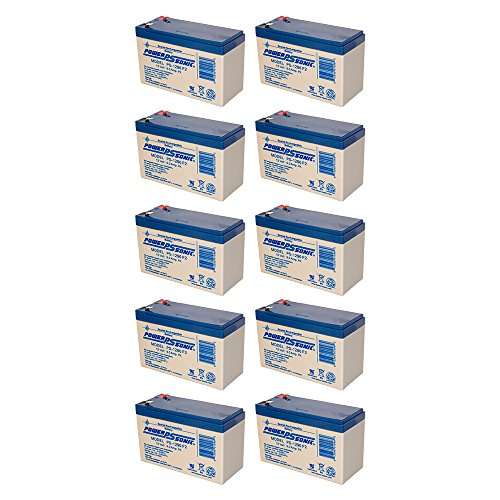 PS-1290 for Parasystems / Minuteman PRO1500E UPS Battery -10 Pack by Powersonic (Image #1)