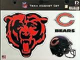 NFL Chicago Bears NFL Team Magnet Sheet, Orange, 11″ x 8.5″ x 25″