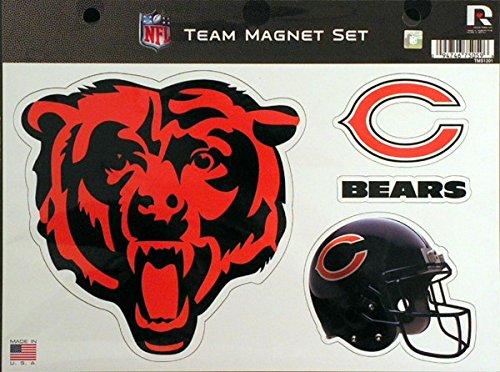 Nfl Team Bear - Rico NFL Chicago Bears NFL Team Magnet Sheet, Orange, 11