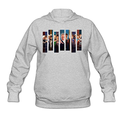 CYANY Doctor Who British Science-fiction TV THE DOCTORS Women's Fashion Hoodies Sweatshirt LAsh