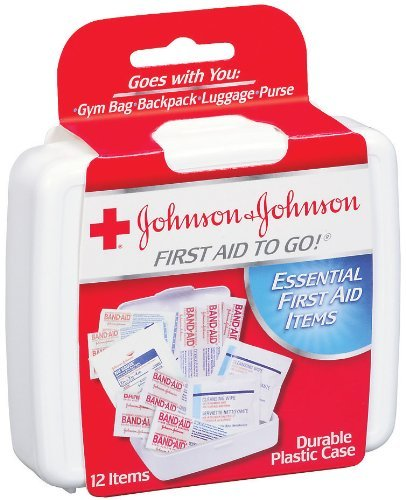 Johnson Mini First Aid - Johnson & Johnson First Aid to Go! Mini First Aid Kit (Set of 2)