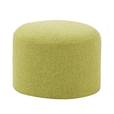 Taburete con sofá Moda creativa sofá banco taburete de tela ...