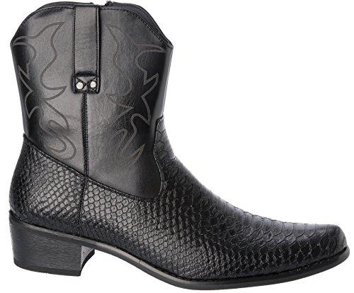 Western Cowboy Fellini Boots Style Alberto Fellini Western Black Style Alberto URqwEng