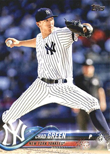 2018 Topps Series 2#676 Chad Green New York Yankees Baseball Card - GOTBASEBALLCARDS