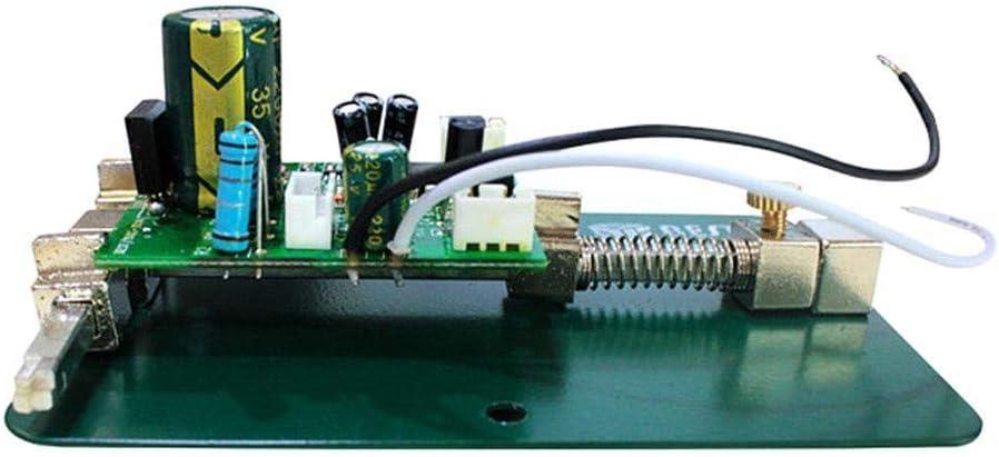 herramienta de soldadura universal Soporte de PCB para estaci/ón de trabajo reparaci/ón de placa de tel/éfono m/óvil abrazadera de soporte fijo de acero