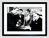 MOVIE FILM STILL MALTESE FALCON HUMPHREY BOGART ASTOR FRAMED PRINT B12X12184
