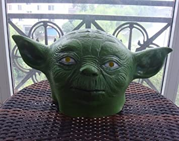 Star Wars Head Mask Big Ears Aliens Mask For Halloween Paty Gift