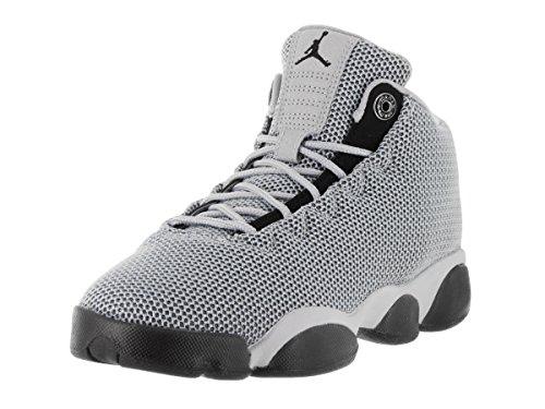 Nike Jordan Horizon Low Bg, Zapatillas de Baloncesto para Niños Gris (Wolf Grey / Black-Dark Grey)