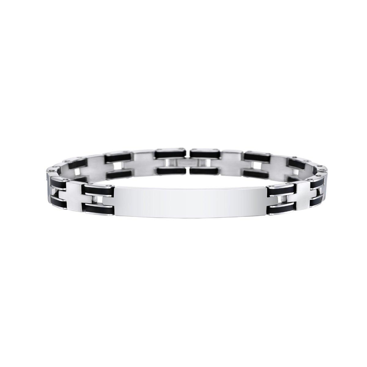 Lotus LS1650-2//1 Bracelet Homme Acier et Carbone