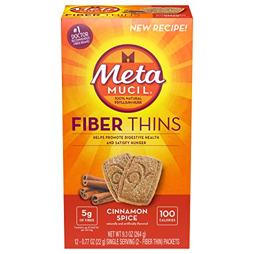 - Metamucil Fiber Thins Size 24ct (Pack of 6)