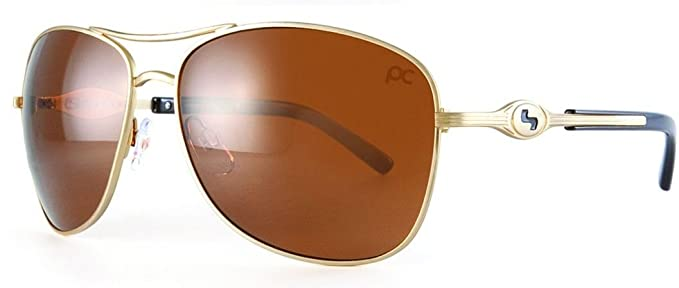 f0110c8bb750 Sundog Golf Ladies Paula Creamer Freestyle Trueblue Sunglasses Antique  Brown  Amazon.co.uk  Clothing