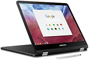 2019 Samsung Chromebook Pro 2-in-1 Convertible Laptop Computer, 12.3 LED Touchscreen, Intel Core M3-6Y30 Up to 2.2GHz, 4GB RAM, 32GB eMMC, 802.11AC WiFi, Built-in Pen, Chrome OS (Renewed)