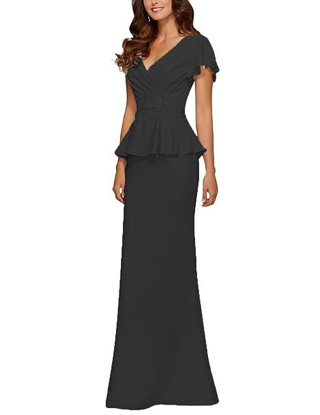 Amazon.com: Cdress - Vestido de noche para madre de la novia ...