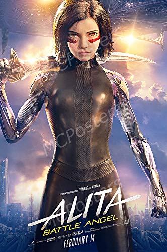 MCPosters - Alita Battle Angel Glossy Finish Movie Poster - MCP511 (24