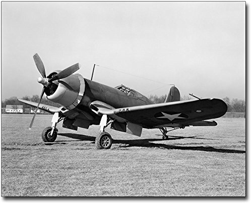 Chance Vought F4U Corsair WWII Plane 8x10 Silver Halide Photo Print ()