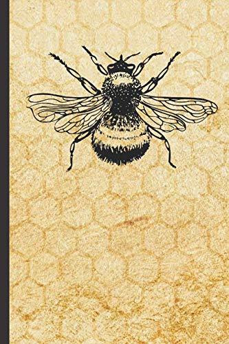 - Vintage Bee Notebook