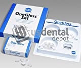 SHOFU - One Gloss Set 20 Cups- 20 Midi-Points- 20 IC and 3 CA ( # 0180 111401 Us Dental Depot