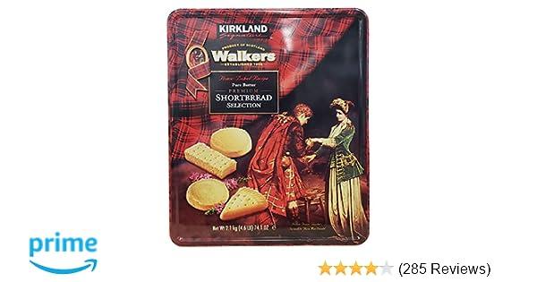 Amazoncom Kirkland Signature Walkers Premium Shortbread Selection