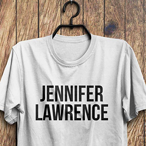 Jennifer Lawrence Shirt, Jennifer Lawrence T-Shirt, used for sale  Delivered anywhere in USA