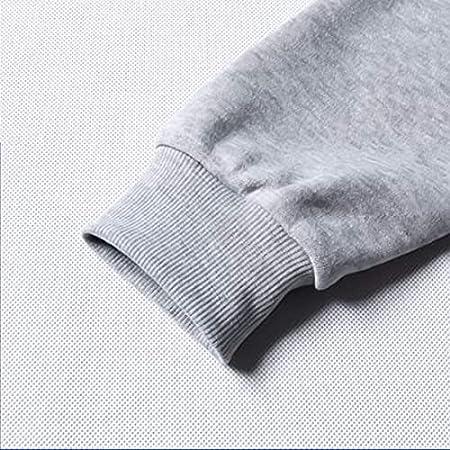 Vivimeng The Promised Neverland Sudadera con capucha para hombre y mujer, unisex Harajuku invierno cálido (gris A, XXS, XXS)