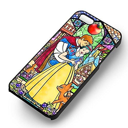 Disney Snow blanc In Love pour Coque Iphone 6 et Coque Iphone 6s Case (Noir Boîtier en plastique dur) C2R2BY