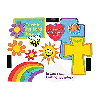 Trust in The Lord Magnet Craft - Crafts for Kids and Fun Home Activities: Toys & Games