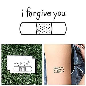 Tattify band aid temporary tattoo boo boo for Band aid tattoo