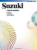 Suzuki Violin School: Violin Part, Vol. 1 by Dr. Shinichi Suzuki (2007) Paperback