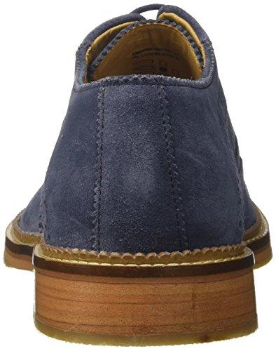 Jeans Oxford Stringate Scarpe Blu Uomo Duke Lumberjack Z8qPAxYA